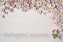 Фотофон А3 (42х29,7см) Ромашки на белом дереве