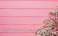 Фотофон А3 (42х29,7см) Гипсофила на розовом дереве