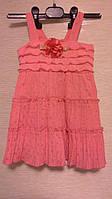 Нарядное платье Коралл 58-68