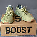 Жіночі кросівки Adidas Yeezy Boost 350 v2 Sulfur, фото 3