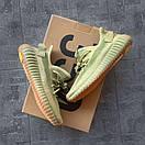 Жіночі кросівки Adidas Yeezy Boost 350 v2 Sulfur, фото 5