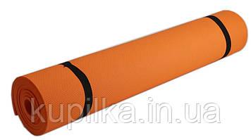Коврик для фитнеса, йогамат M 0380-2 EVA 173-61см (6 цветов)