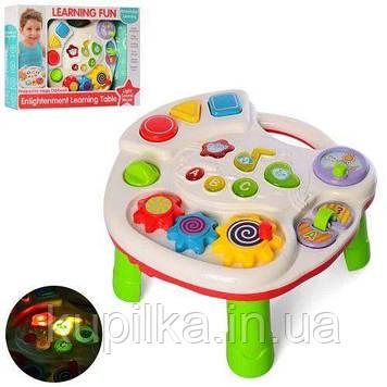 Музыкальный развивающий центр для ребенка со световыми и звуковыми эффектами, английская озвучка 35482