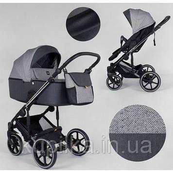Детская универсальная коляска 2 в 1 Expander EXEO EX-65488 цвет Carbon ткань с водоотталкивающей пропиткой