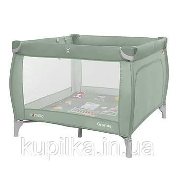 Детский манеж CARRELLO Grande CRL-9204/1 Mint Green для играющего малыша