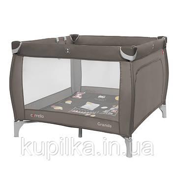 Детский манеж CARRELLO Grande CRL-9204/1 Chocolate Brown для играющего малыша