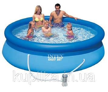 Семейный надувной бассейн Easy Set Intex 28122 (56922) (305*76 см) с фильтром-насосом