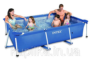 Каркасный бассейн сборный Intex 28270 NP (58983) Small Frame (220*150*60 см)