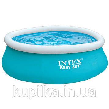 Надувной семейный бассейн Intex 28101 Easy Set (183*51 см)