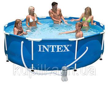 Каркасный, круглый, сборный бассейн Intex 28202 NP с картриджным фильтром-насосом (220-240 V) (305*76 см)