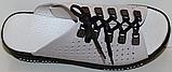 Сабо жіночі на дуже повну ногу шкіряні від виробника модель ПЛ21-17, фото 2