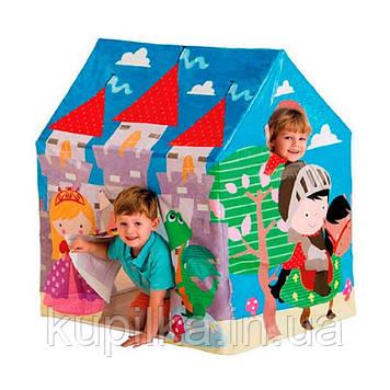 Красочная, виниловая, игровая палатка-домик Intex 45642 Средневековой замок, размер 95х75х107 см