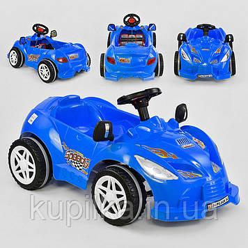 Машина педальная детская Pilsan Herby 07-312 Синий, клаксон на руле