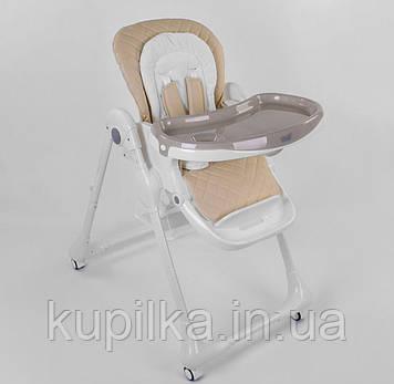 Стульчик для кормления ребенка со съемным подносом и регулировкой спинки Toti W-70016