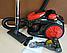 Колбовый мощный пылесос Crownberg CB-659 с турбощеткой 3500 Вт. Пылесос для сухой уборки, Циклонный без мешка, фото 2