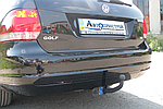 Фаркоп - Volkswagen Golf 6 Variant Универсал (2009--) сьемный на двух болтах