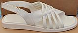Шкіряні босоніжки на низькому ходу від виробника модель ЛС2109-1, фото 5