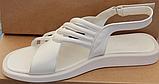 Шкіряні босоніжки на низькому ходу від виробника модель ЛС2109-1, фото 6