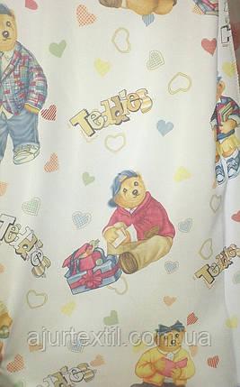 """Штора детская """"Тедди"""", фото 2"""