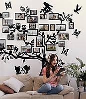 Семейное дерево для фотографий / семьи / фоторамка /картина / композиция / коллаж / подарок