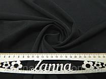 Ткань костюмка однотонная цвет темно-коричневый