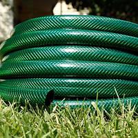 """Шланг садовый диаметр 3/4"""" длина 50м стойкий к ультрафиолету и механическим воздействиям Италия зеленый"""