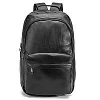 Мужской кожаный рюкзак Черный Borsa Leather k1680 Мужские рюкзаки из натуральной кожи