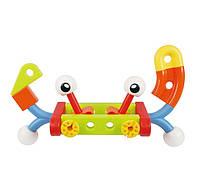 Конструктор Gigo Сумасшедшие создания, детский конструктор из кубиков