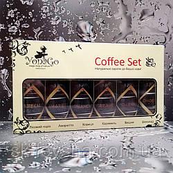 Подарунковий набір Yonago Premium Coffee Set, натуральні сиропи 6 смаків, 40 мл./55 г.