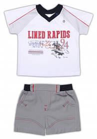 Детская тенниска и шорты для мальчика, р. 86 ТМ Garden Baby