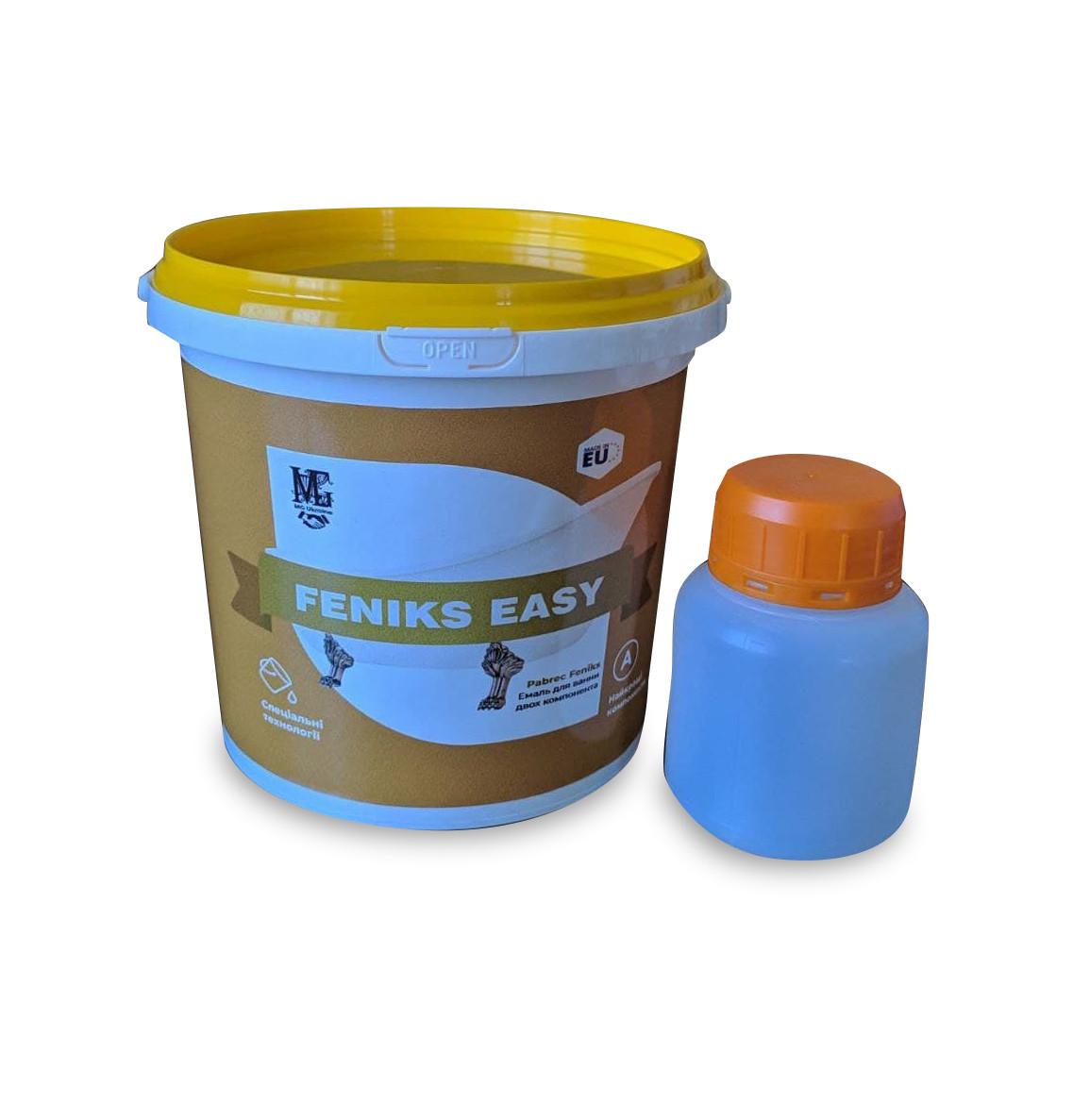 Fеniks easy Эмаль для реставрации ванн 1.7м. краска для ванн