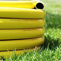 """Шланг садовый диаметр 1/2"""" длина 20м стойкий к ультрафиолету и механическим воздействиям Италия желтый"""