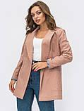 Пиджак  с лацканами и прорезными карманами, фото 6