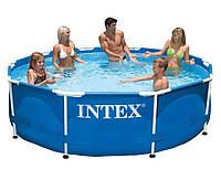 Bestway 56406, каркасный бассейн 305 x 76 см Steel Pro Frame Pool (Intex 28200)