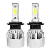 Комплект автомобильных LED ламп S2 H7 / Светодиодные лампы HeadLight, фото 2