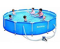 Bestway 56416, каркасный бассейн 366 x 76 см Steel Pro Frame Pool