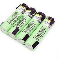 Li-ion аккумулятор Panasonic NCR18650B 3400mAh 3.7V с никелевыми контактами, фото 1