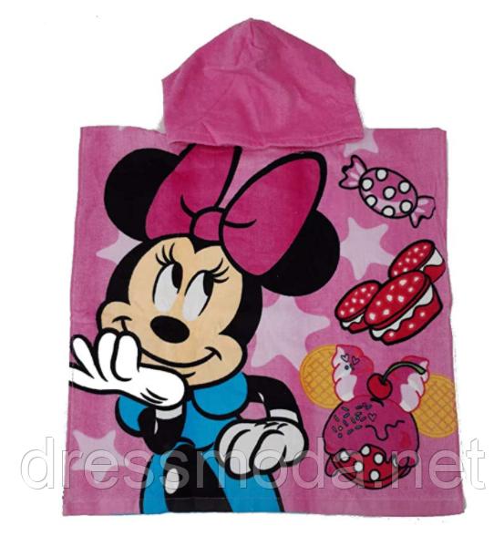 Рушник-пончо для дівчаток Minnie