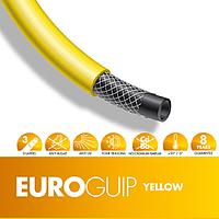 """Шланг садовый диаметр 5/8"""" длина25м стойкий к ультрафиолету и механическим воздействиям Италия желтый"""