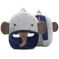 Плюшевый детский рюкзак Слоник