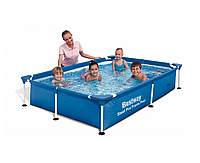 Bestway 56401, каркасный бассейн 221 x 150 x 43 см Steel Pro Frame Pool
