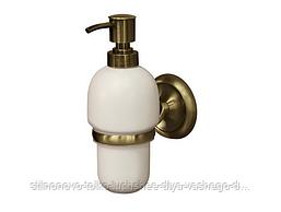 Дозатор для жидкого мыла, цвет бронза