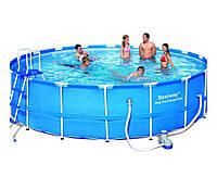 Bestway 56462, каркасный бассейн 549 x 122 см Steel Pro Frame Pool