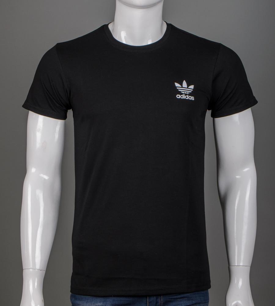 -Р - Футболка чоловіча Adidas Чорний (2111м), XXL