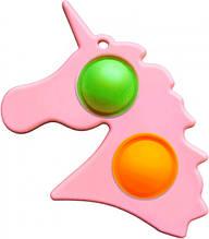 Сенсорна іграшка Simple Dimple поп іт антистрес сімпл дімпл Єдиноріг