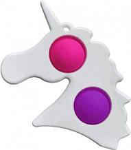 Сенсорная игрушка Simple Dimple поп ит антистресс симпл димпл Единорог