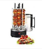 Шашлычница вертикальная электрическая Kebabs Machine на 6 шампуров 1000W, фото 1