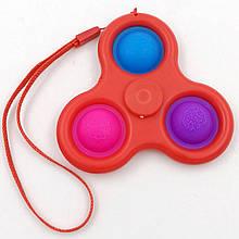 Сенсорная игрушка Simple Dimple поп ит антистресс симпл димпл спинер