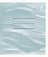 """Тетрадь для заметок 12л. """"Перышко"""" (блок - писчая бумага, линия, обложка офсетная бумага 80 г/м2, поля"""