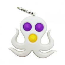 Сенсорная игрушка Simple Dimple поп ит антистресс симпл димпл осьминог